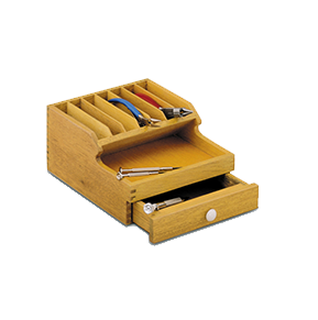 Wooden Rack for Pliers Holder with Drawer, 13.376