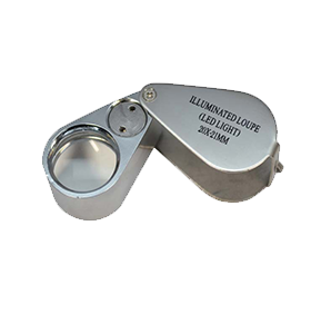 20X Jewelers Loupe with LED Light, 29.608