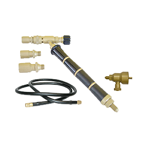 Orca Torch with 3 tips, hose and regulator, 14.075