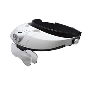 LED Illuminating Headband Magnifier with adjustable lens. 29.568