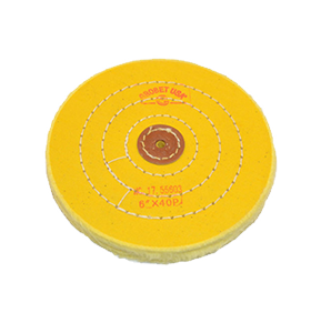 "6"" x 40 Ply, Yellow Chemkote Buff, 17.55603"