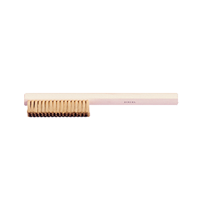 "Brass Scratch Brush, Wood Handle, 8-1/4"" Long, 16.310"