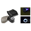 Grobet USA® 14X Illuminated Jewelers' Loupe with Ultraviolet lighting