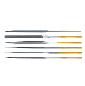 Teborg Needle File Set of 12, Fine Cut, 33.909