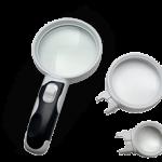 LED Interchangeable Lens Magnifier