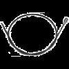Replacement Inner Shaft for Grobet Flex Shaft, 34.365