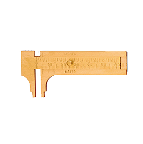 Brass Pocket Sliding Guage, 60mm Capacity, 35.152