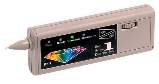 Dual Tester for diamonds, moissanites